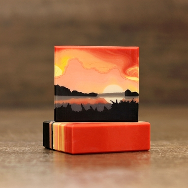 Sunset Soap Stencil™ Set of 9