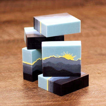 Sun and Clouds Soap Stencil™ set of 4