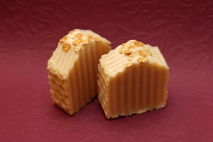 Unscented Oatmeal, Milk & Honey Scrub Soap